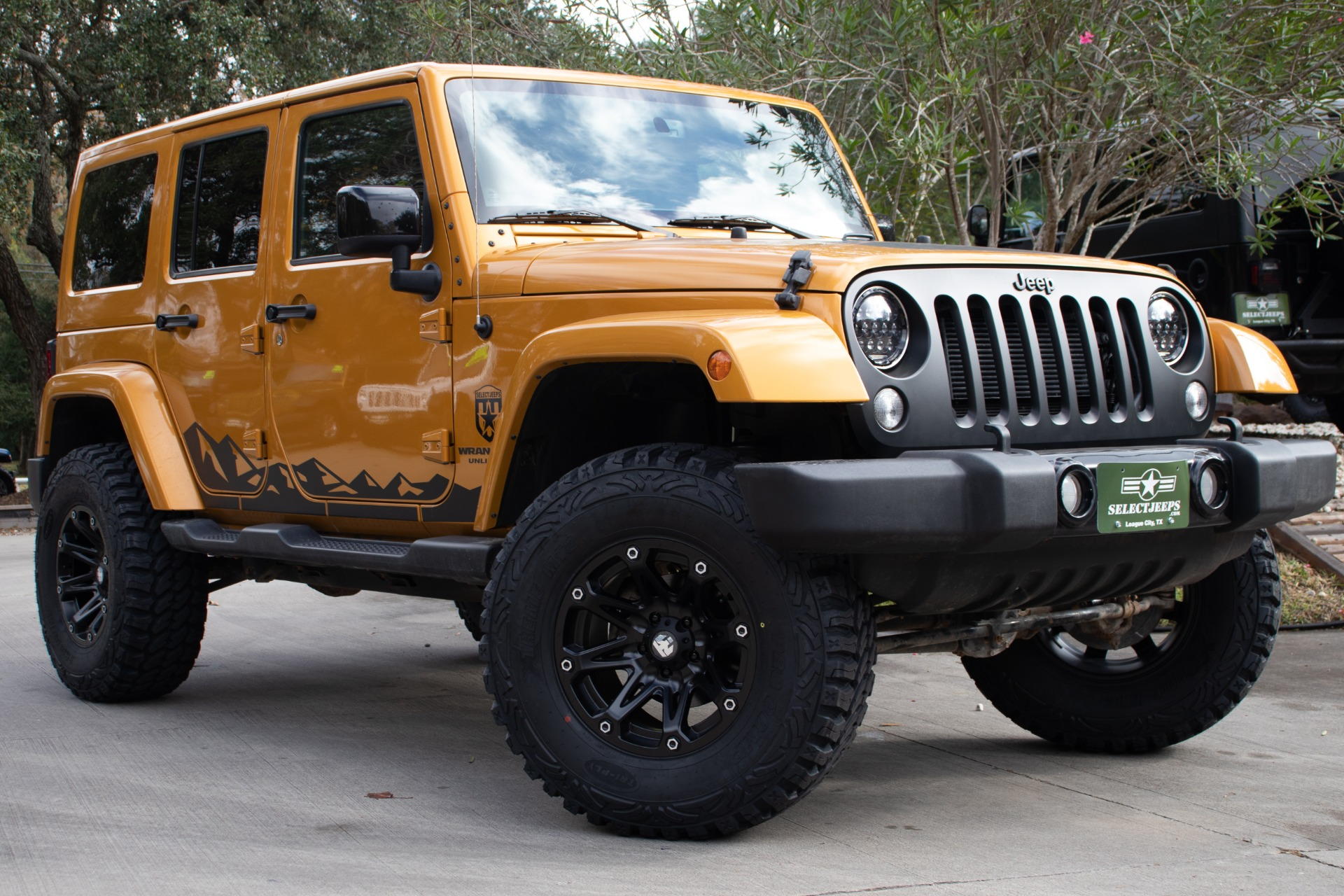 Used 2014 Jeep Wrangler Unlimited Altitude Edition For Sale 28 995 Select Jeeps Inc Stock 261789