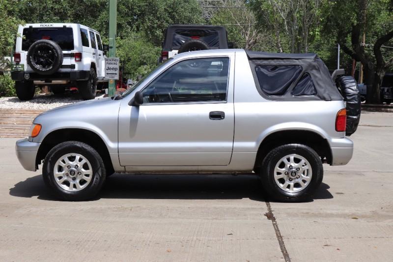 Used 2001 Kia Sportage 2dr Convertible Auto