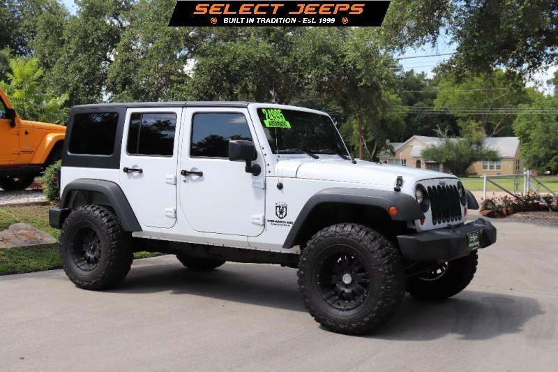 Used 2017 Jeep Wrangler Unlimited 4wd 4dr Sport