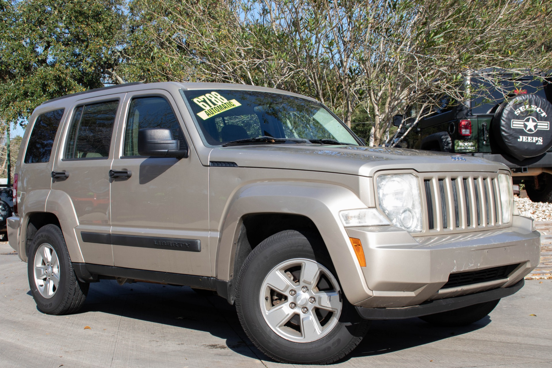 used 2011 jeep liberty sport for sale 6 788 select jeeps inc stock 509755. Black Bedroom Furniture Sets. Home Design Ideas