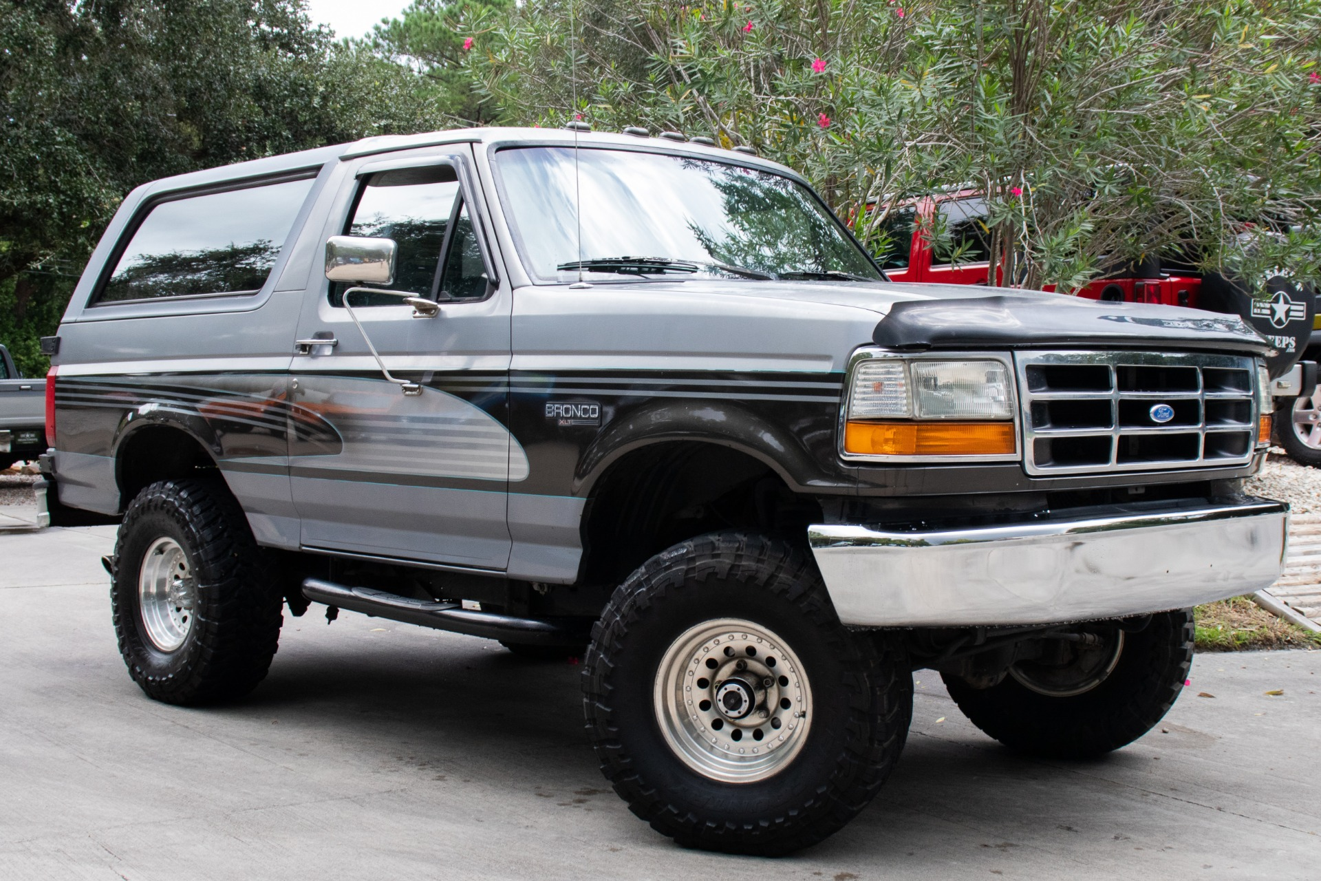 Used 1995 ford bronco xlt