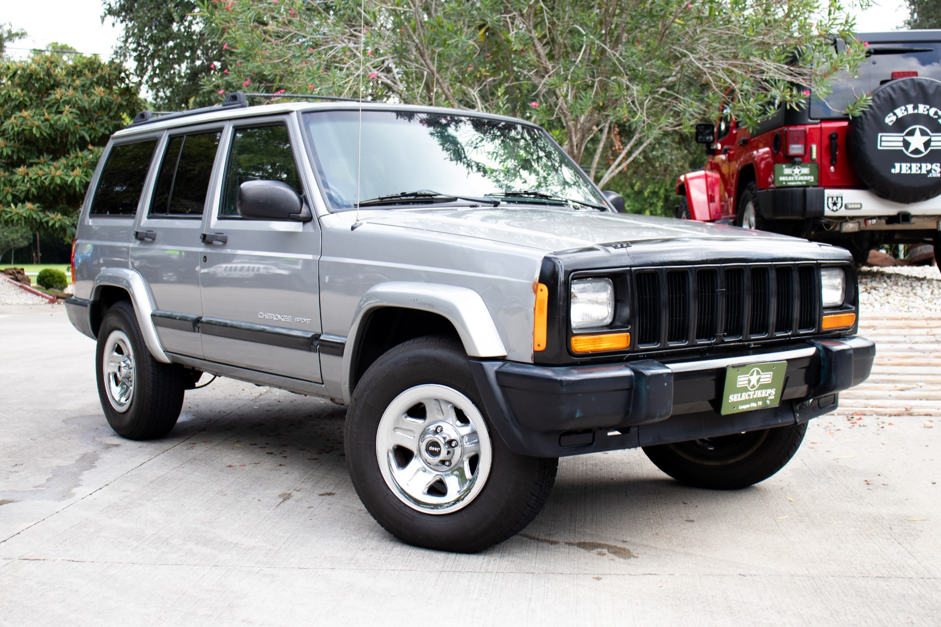 Used 2001 Jeep Cherokee 4dr Sport For Sale 4 995 Select Jeeps Inc Stock 535118