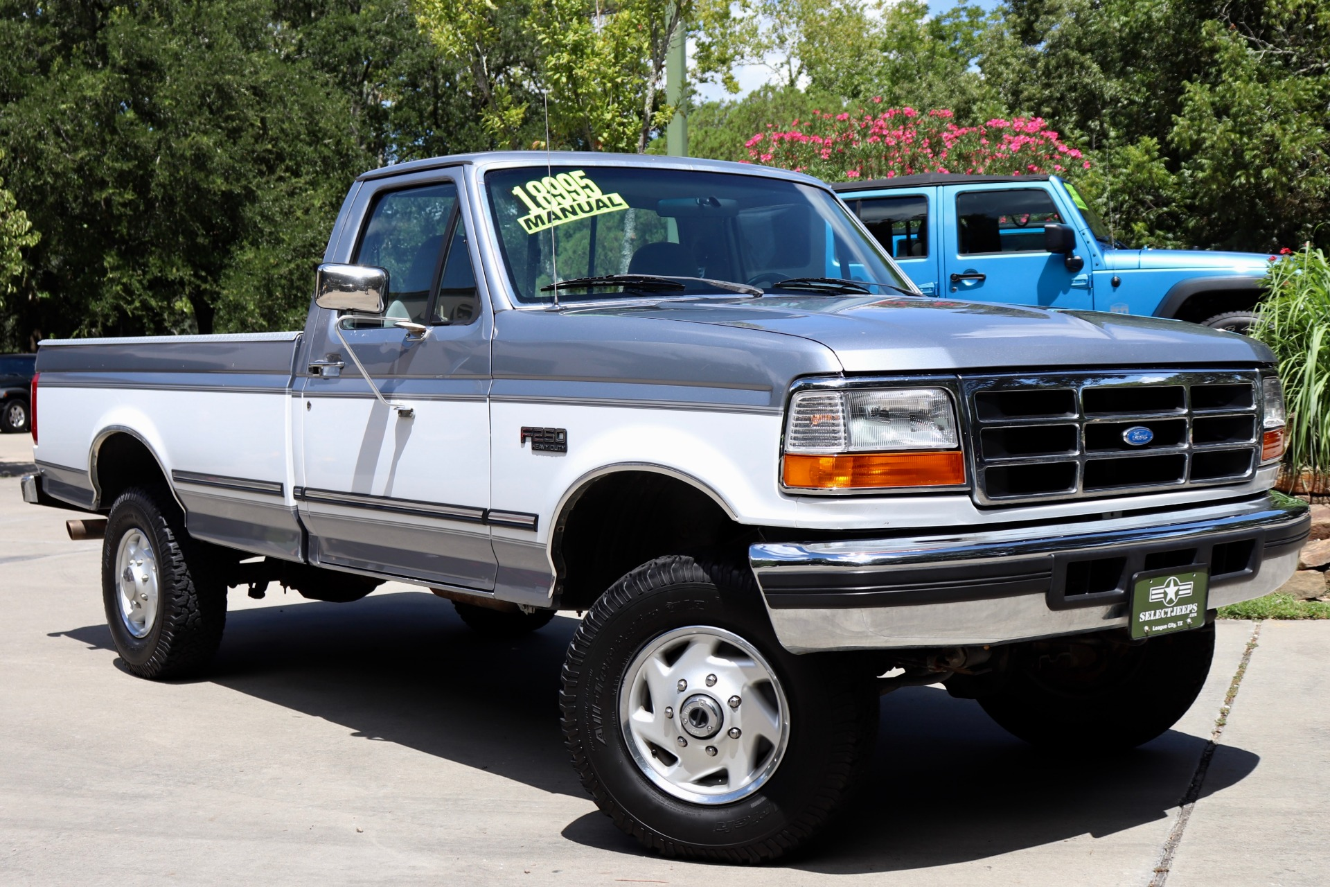 Used 1997 Ford F 250 Hd Hd Reg Cab 133 For Sale 17 995 Select Jeeps Inc Stock A66249