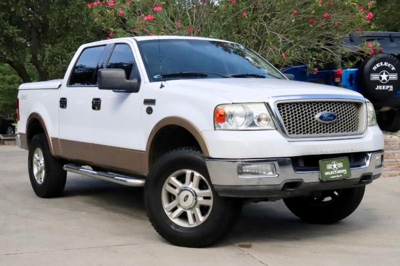 2004 Ford F150 Lariat >> Used 2004 Ford F 150 Supercrew 139 Lariat 4wd For Sale