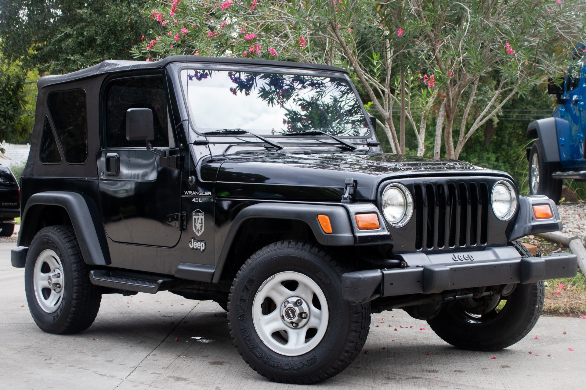 1999 Jeep Wrangler For Sale >> Used 1999 Jeep Wrangler 2dr Sport For Sale 9 995 Select Jeeps