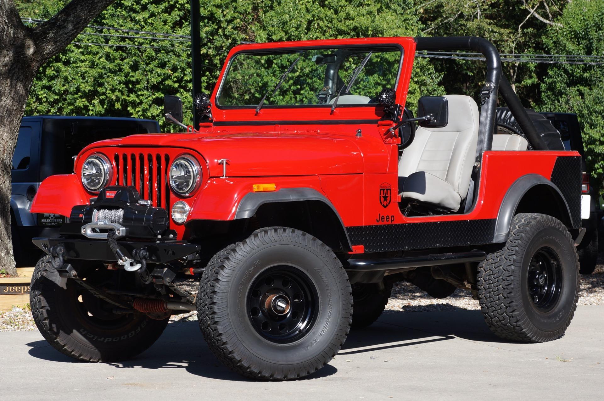 Used 1983 Jeep Cj 7 4wd Wagon Cj7 For Sale 19 995