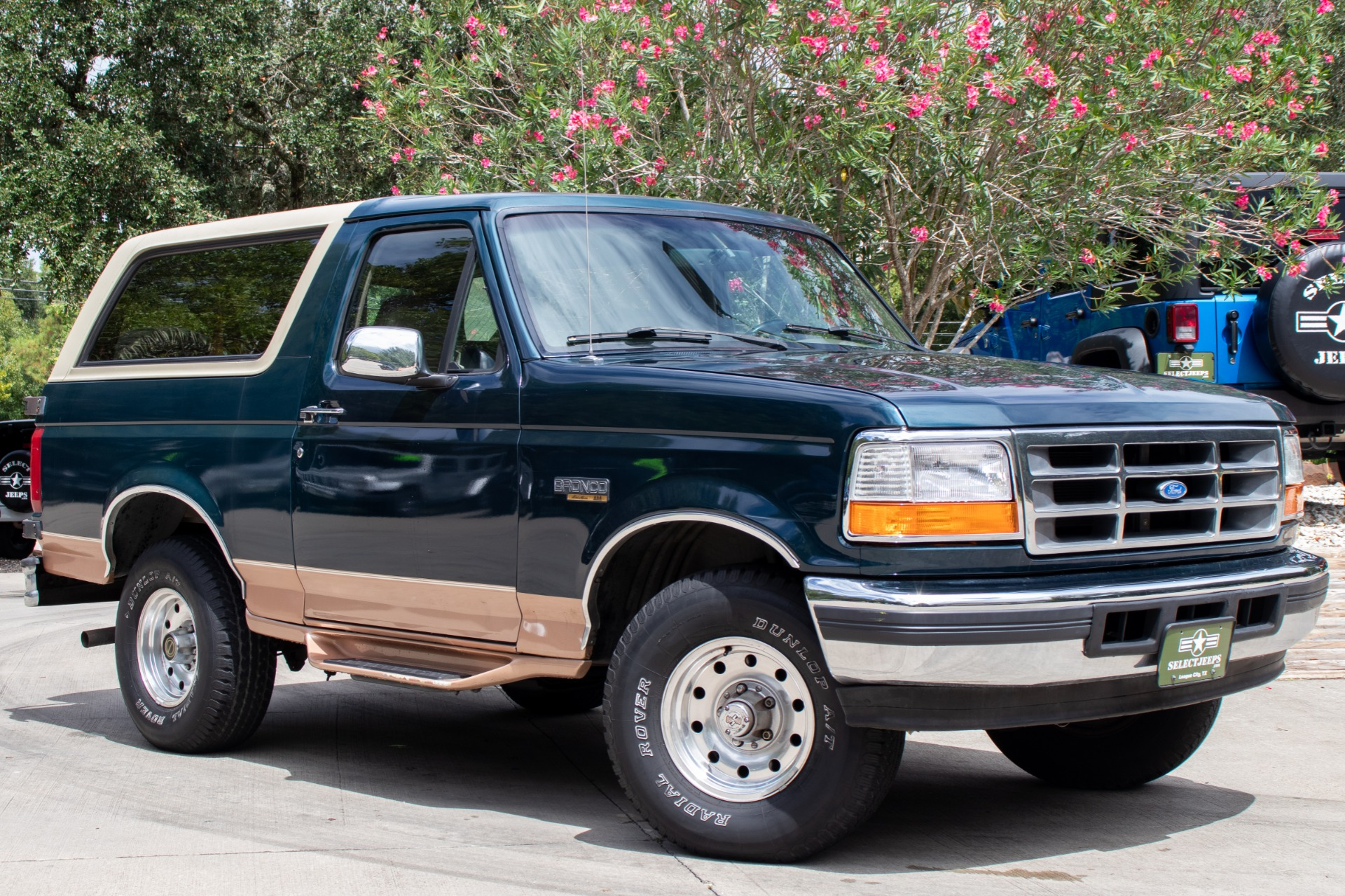 1995 Ford Bronco >> Used 1995 Ford Bronco Eddie Bauer For Sale 18 995