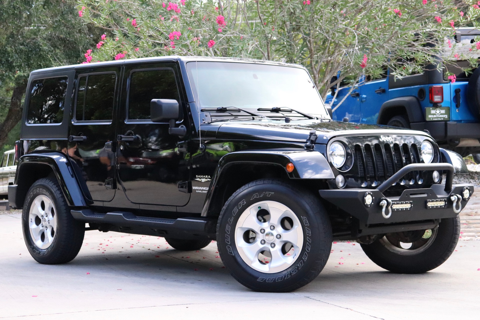 Used 2015 Jeep Wrangler Unlimited Sahara For Sale   26 995