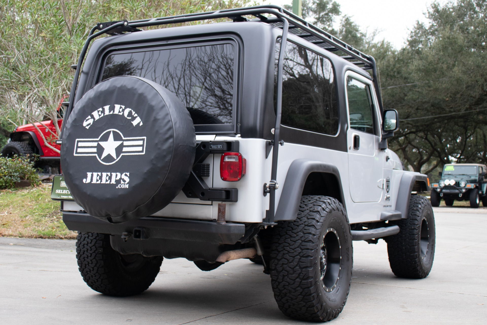 Used 2004 Jeep Wrangler Unlimited For Sale 20 995
