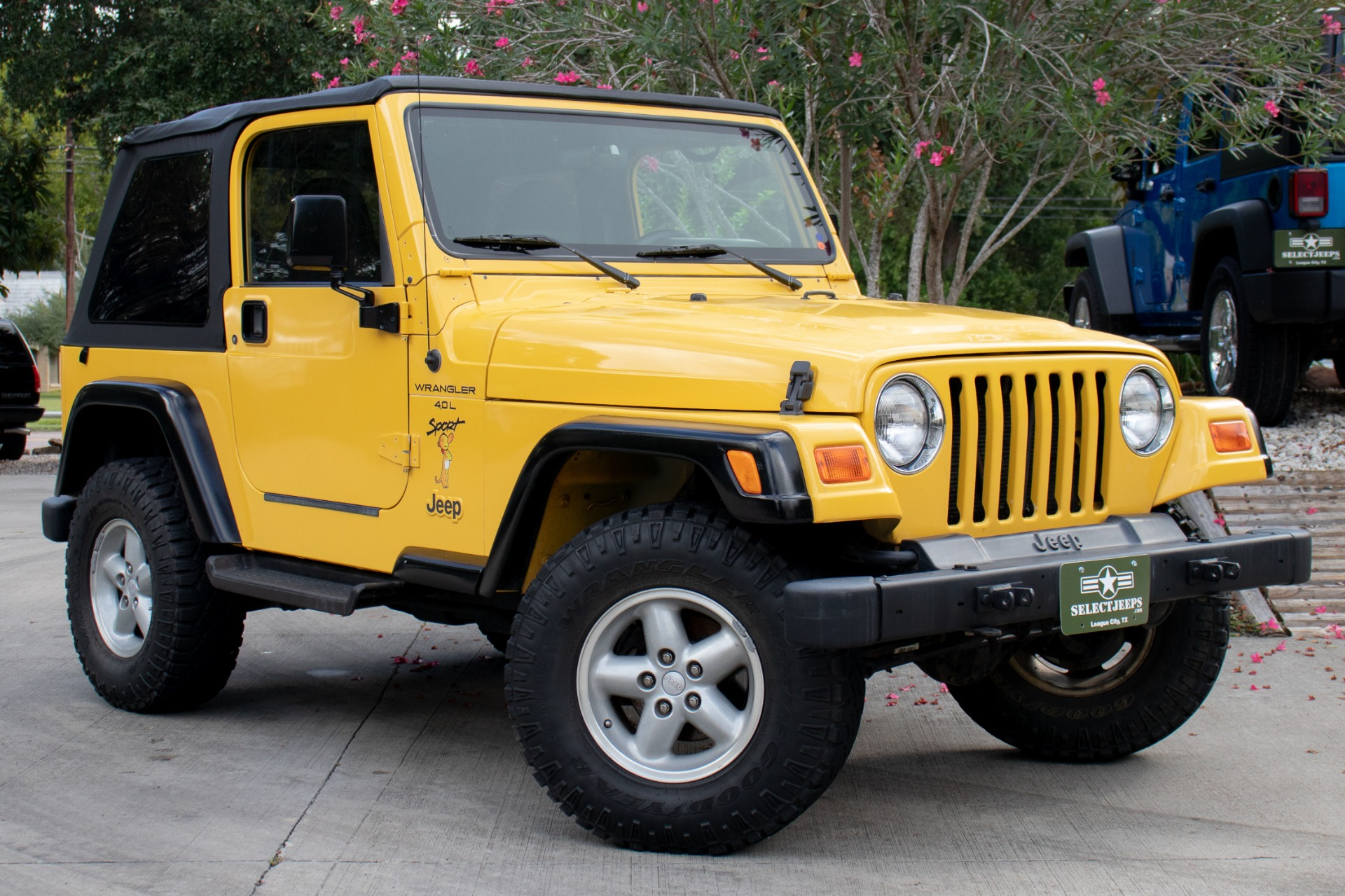 Marvelous ... Used 2000 Jeep Wrangler 2dr Sport ...