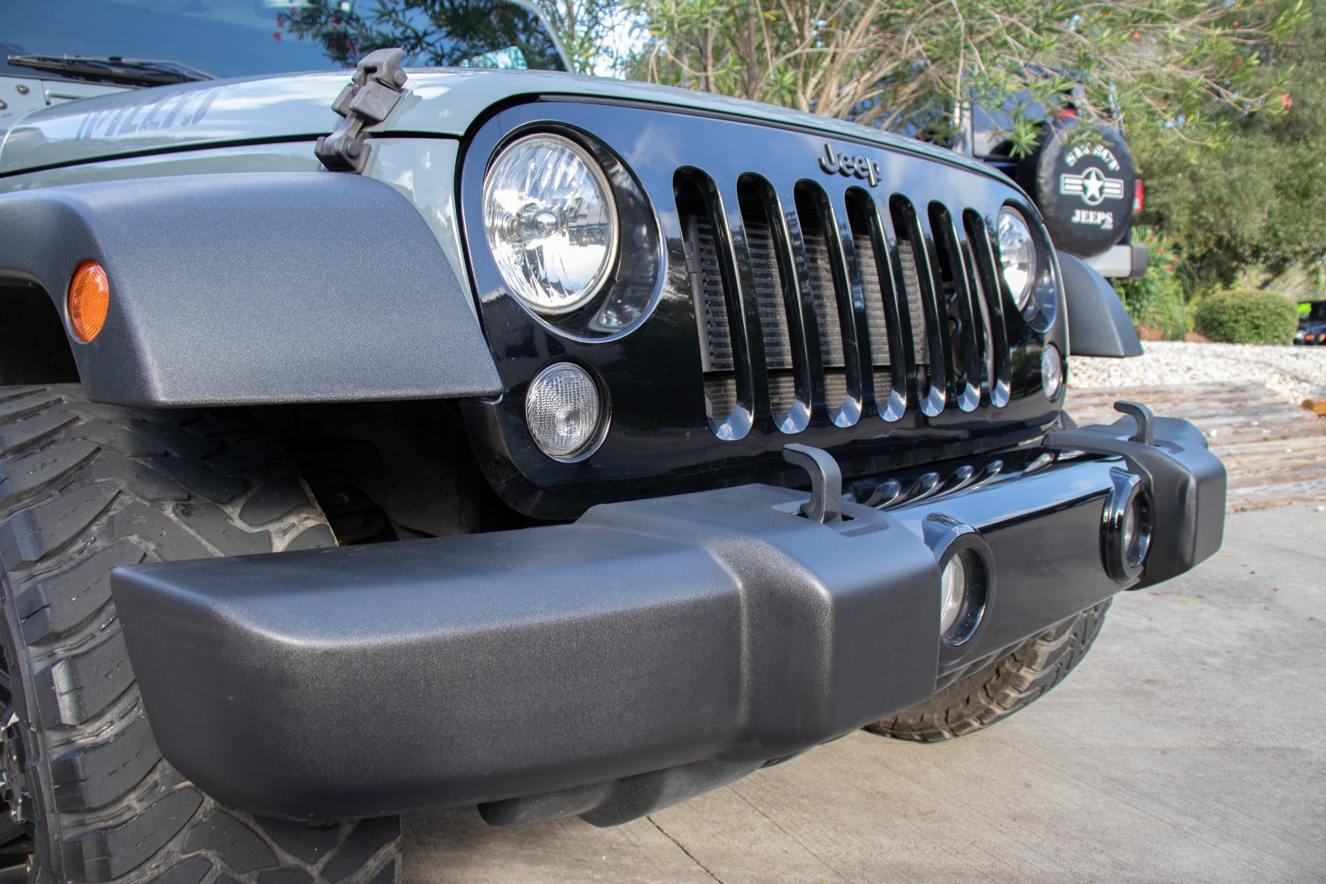 Used 2015 Jeep Wrangler Willys Wheeler Edition For Sale ...