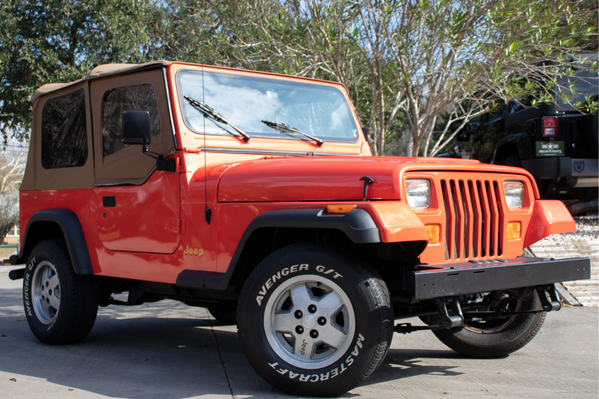 Used 1995 Jeep Wrangler S For Sale   10 995