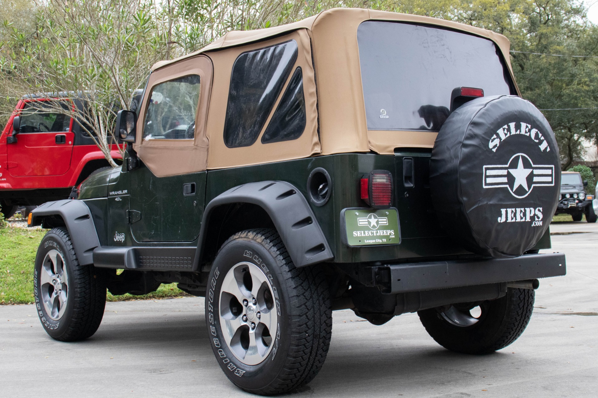 Used 1998 Jeep Wrangler Sport For Sale ($7,995) | Select ...