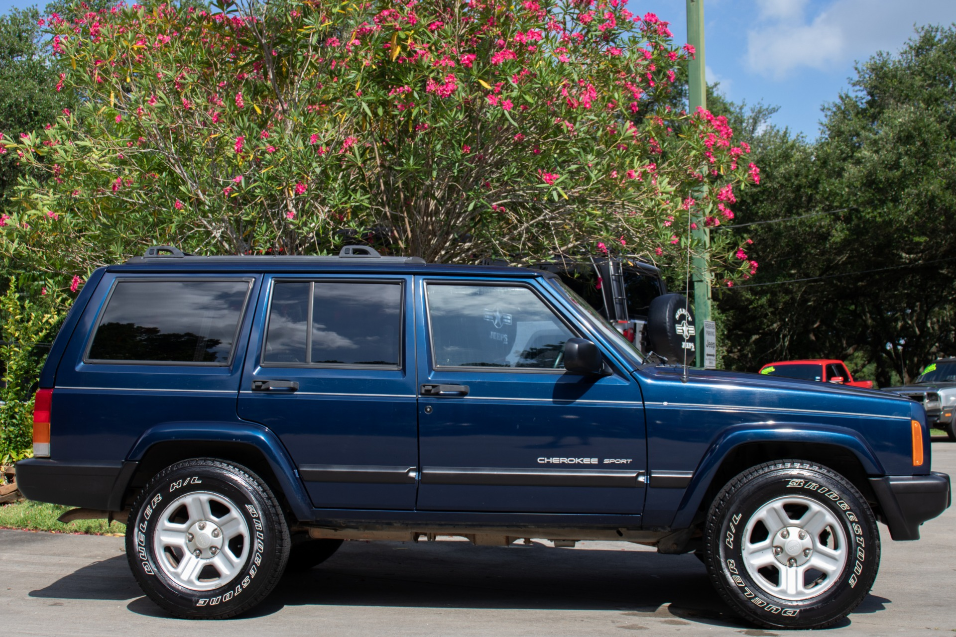 Used 2001 Jeep Cherokee Sport For Sale 6 995 Select Jeeps Inc Stock 535499