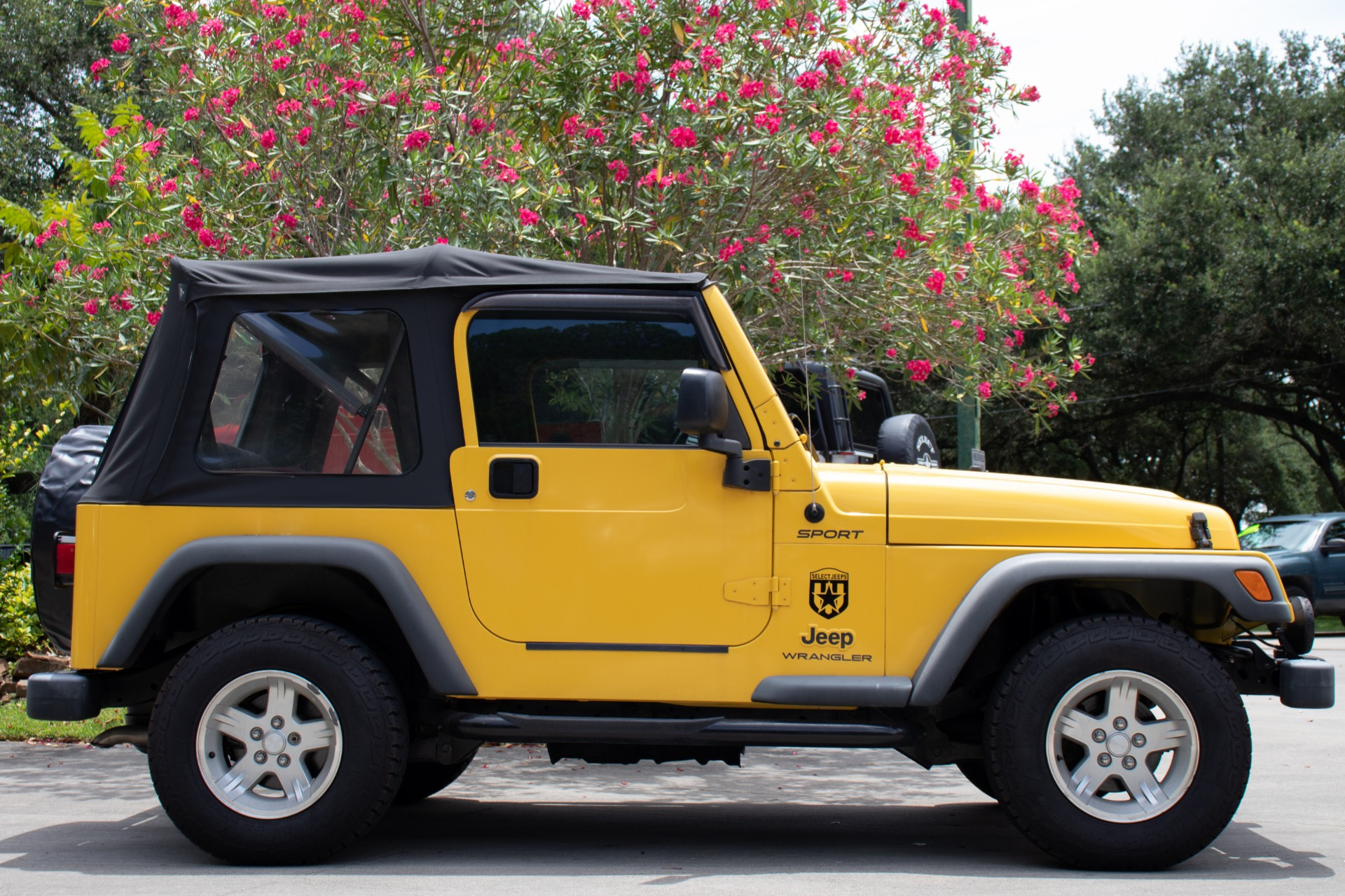 Used 2004 Jeep Wrangler Sport For Sale (Special Pricing