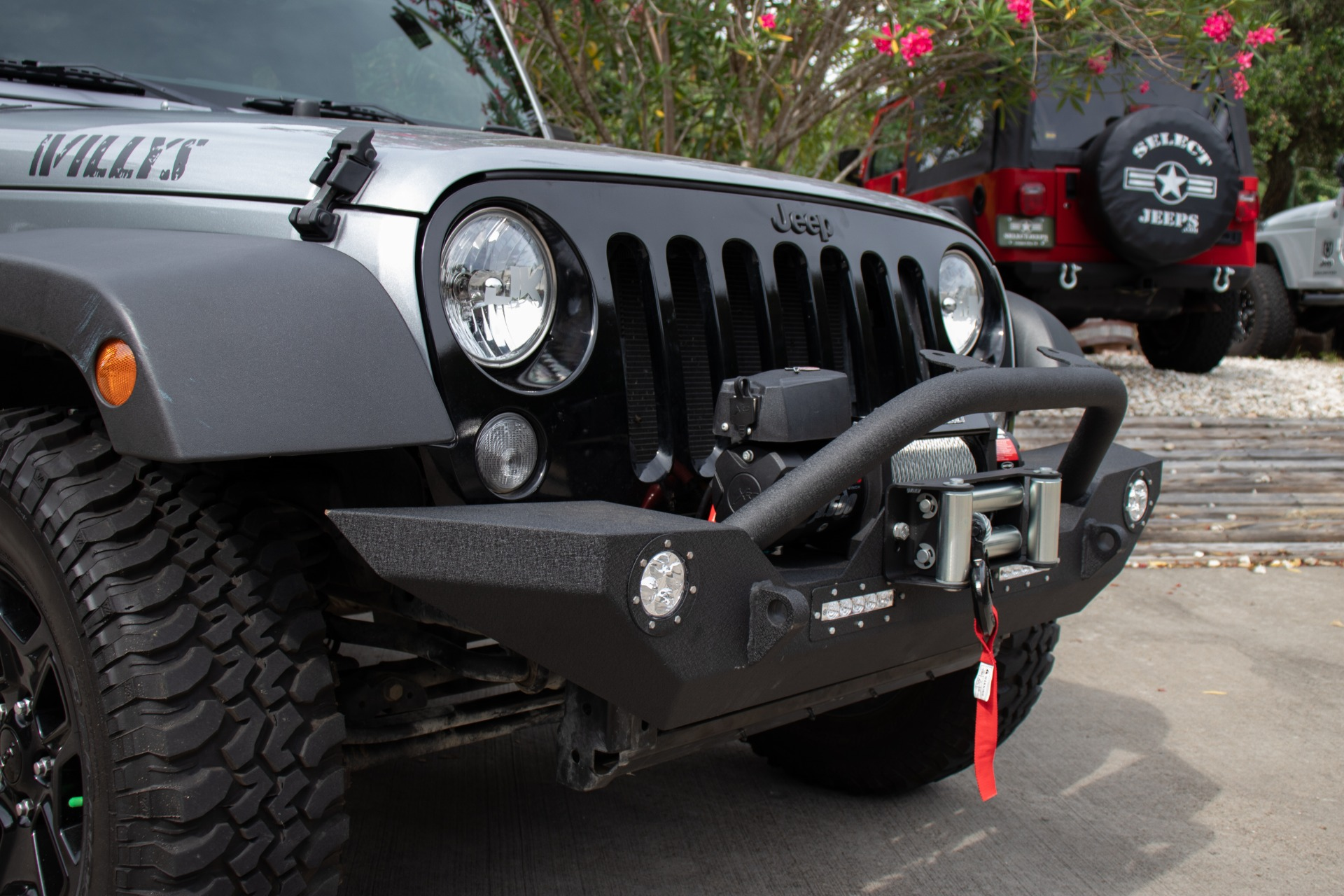 Used 2016 Jeep Wrangler Willys Wheeler For Sale ($24,995 ...