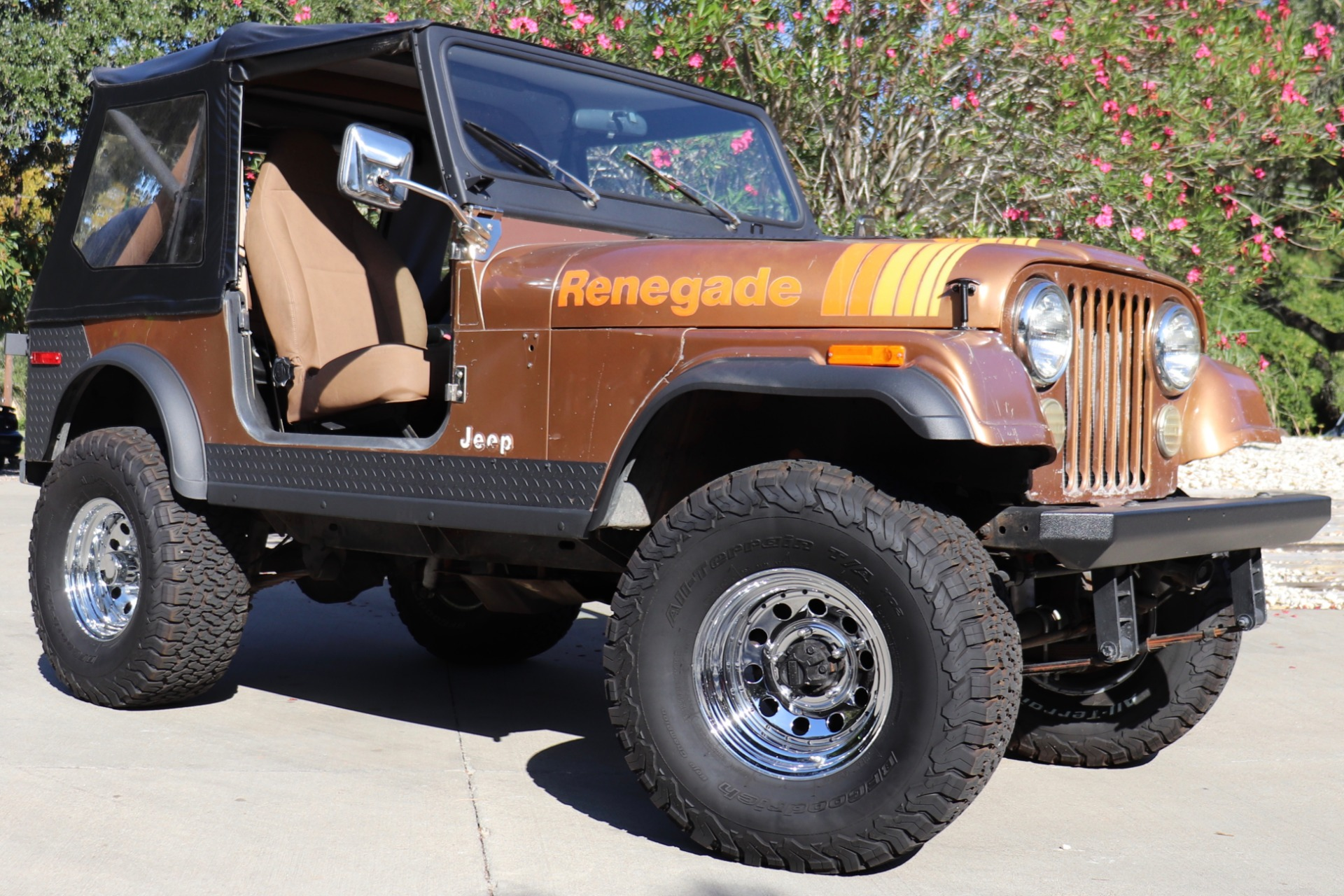 Used 1980 Jeep Cj7 Renegade For Sale   17 995