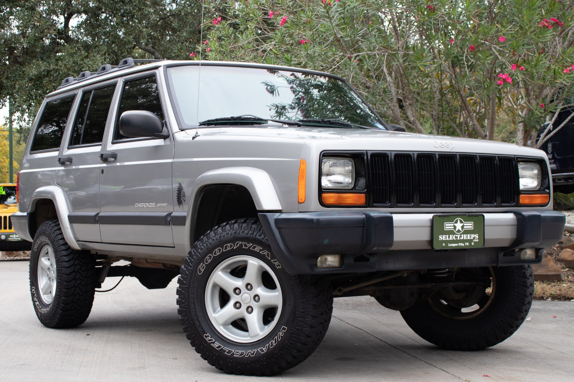Used 2001 Jeep Cherokee Sport For Sale 9 995 Select Jeeps Inc Stock 528706