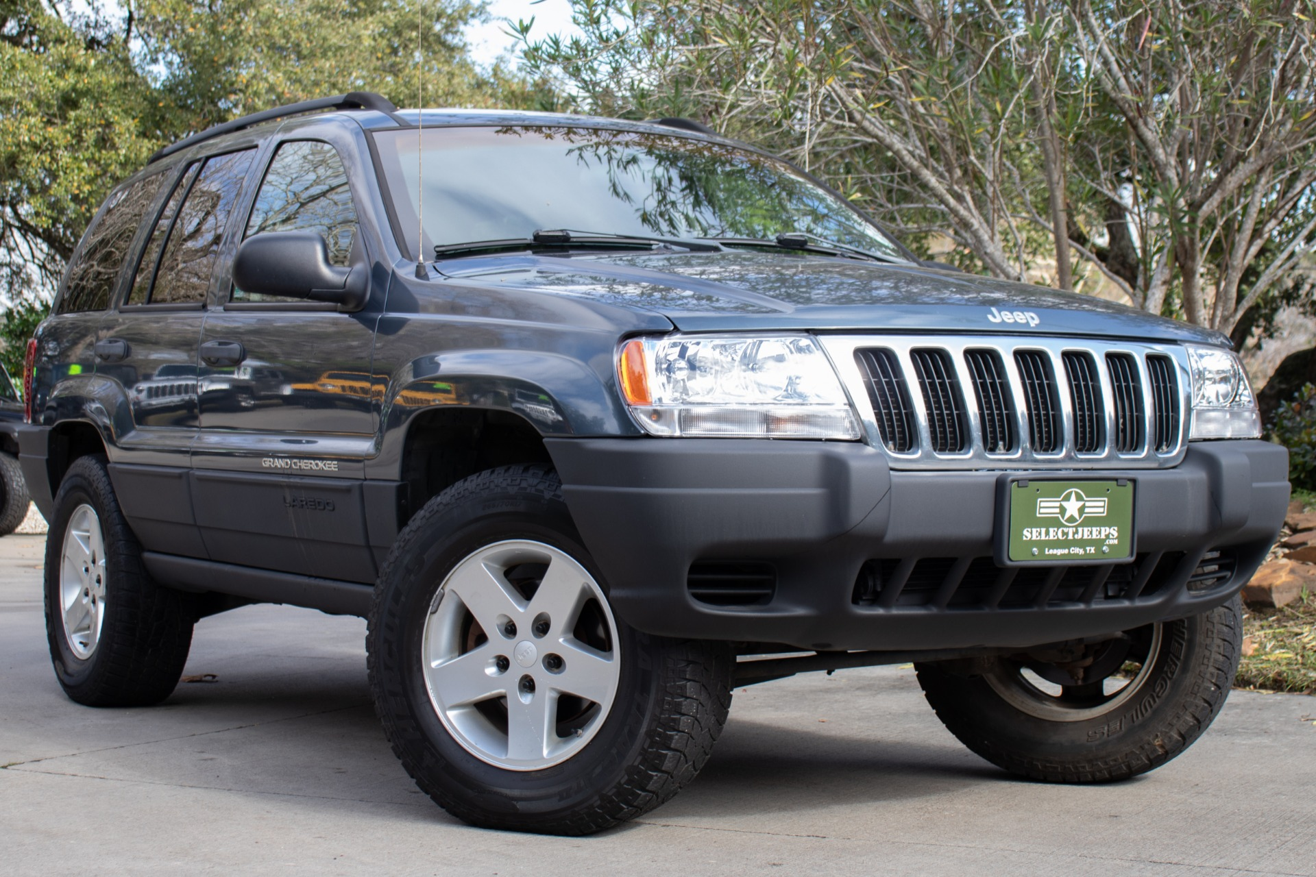 used 2002 jeep grand cherokee laredo for sale 6 995 select jeeps inc stock 271536 used 2002 jeep grand cherokee laredo