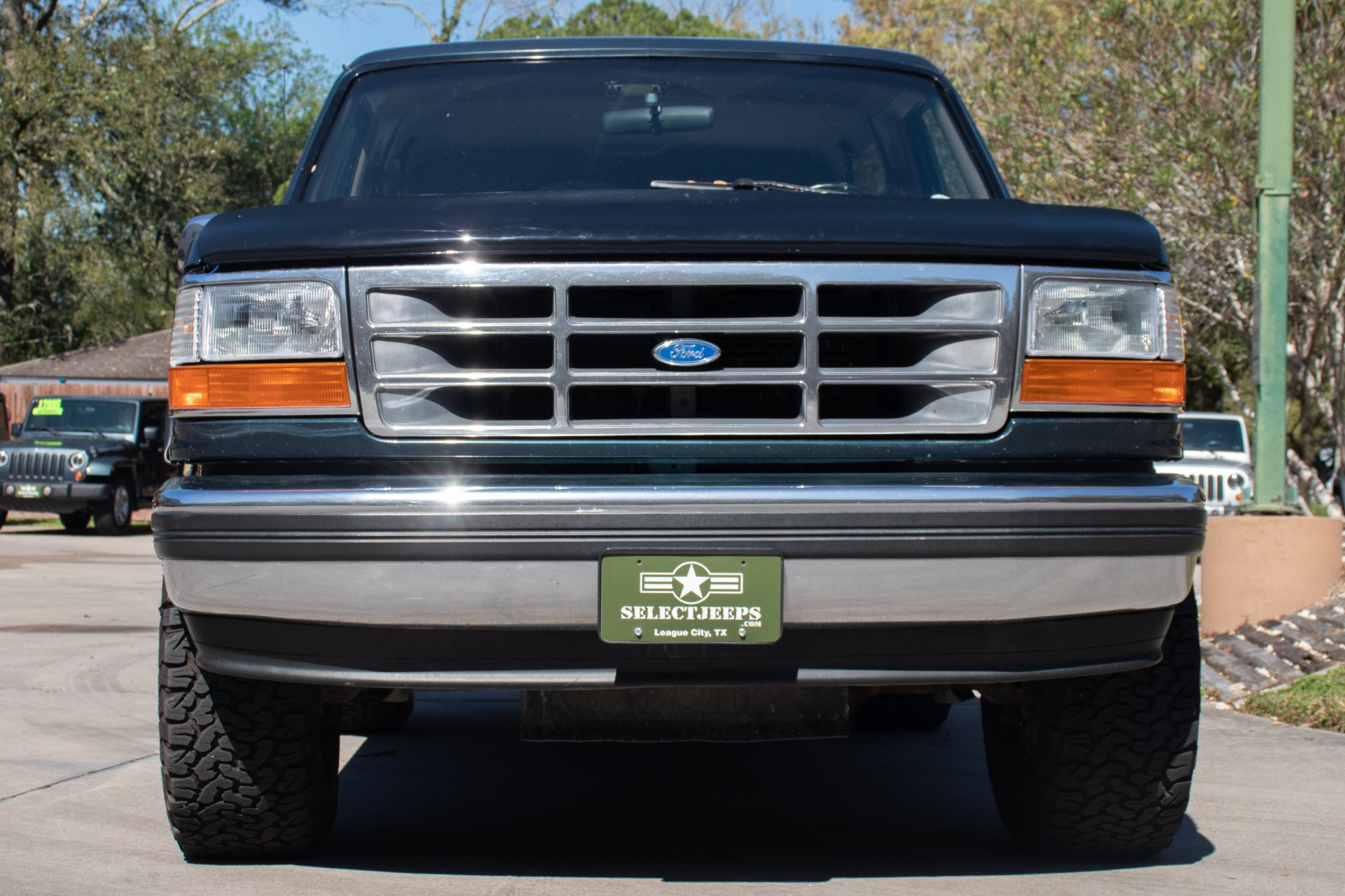 used 1994 ford bronco xlt for sale 13 995 select jeeps inc stock a78452 used 1994 ford bronco xlt for sale 13