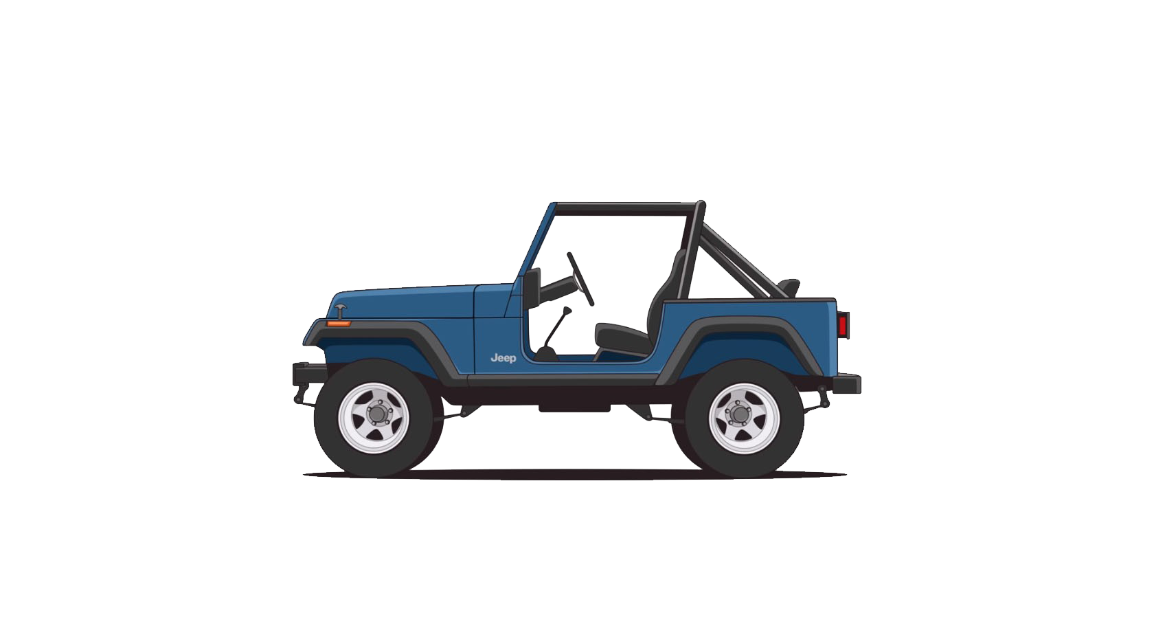 Jeep. 1987