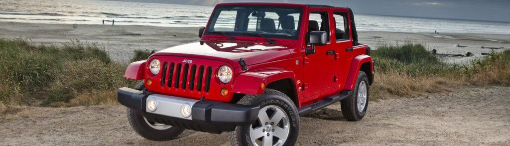 2012 Jeep Wrangler Red