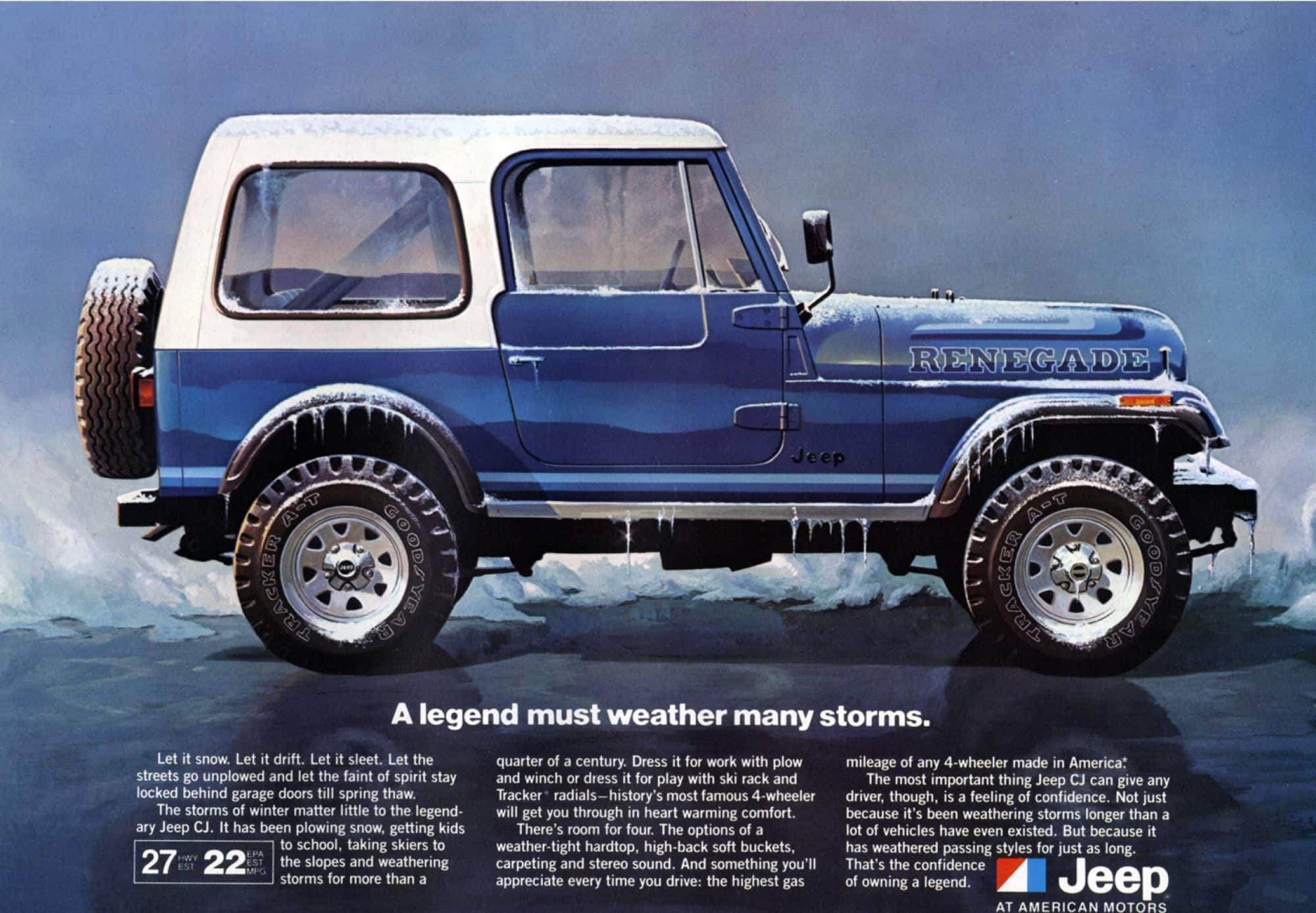 Used 1978 Jeep CJ-7 Renegade Available in Texas